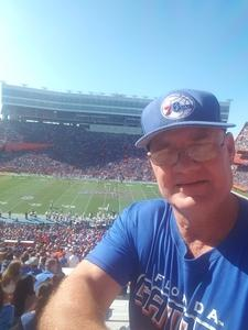 Gregory attended Florida Gators vs. Idaho Vandals - NCAA Football on Nov 17th 2018 via VetTix