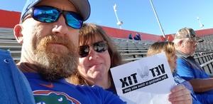Thomas attended Florida Gators vs. Idaho Vandals - NCAA Football on Nov 17th 2018 via VetTix