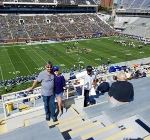 Timothy attended Georgia Tech vs. Duke - NCAA Football on Oct 13th 2018 via VetTix