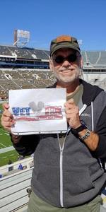 John attended Georgia Tech vs. Duke - NCAA Football on Oct 13th 2018 via VetTix