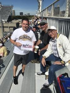 MGySgt S. attended Georgia Tech vs. Duke - NCAA Football on Oct 13th 2018 via VetTix