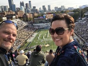 Joe attended Georgia Tech vs. Virginia - NCAA Football on Nov 17th 2018 via VetTix