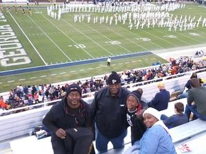 Fredrick attended Georgia Tech vs. Virginia - NCAA Football on Nov 17th 2018 via VetTix