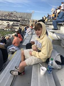 Andrew attended Georgia Tech vs. Virginia - NCAA Football on Nov 17th 2018 via VetTix