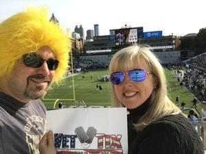 David attended Georgia Tech vs. Virginia - NCAA Football on Nov 17th 2018 via VetTix
