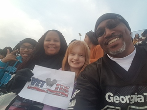 Ernest attended Georgia Tech vs. Virginia - NCAA Football on Nov 17th 2018 via VetTix