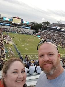 Heather Davis attended Georgia Tech vs. Virginia - NCAA Football on Nov 17th 2018 via VetTix