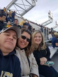 Lynn attended Georgia Tech vs. Virginia - NCAA Football on Nov 17th 2018 via VetTix