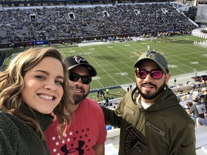 Anthony attended Georgia Tech vs. Virginia - NCAA Football on Nov 17th 2018 via VetTix