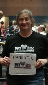 Pamela attended Sting & Shaggy the 44/876 Tour - Ga Reserved Seats on Sep 19th 2018 via VetTix