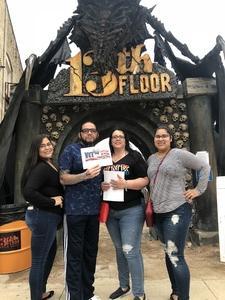 S. Lopez attended 13th Floor Austin - Good for 9/22 Only on Sep 22nd 2018 via VetTix