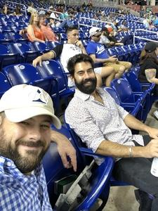 Luke attended Miami Marlins vs. Cincinnati Reds - MLB on Sep 21st 2018 via VetTix