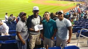 Brandon attended Miami Marlins vs. Cincinnati Reds - MLB on Sep 21st 2018 via VetTix