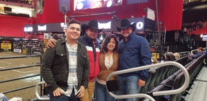 Andres attended 25th PBR Unleash the Beast Tickets on Oct 7th 2018 via VetTix