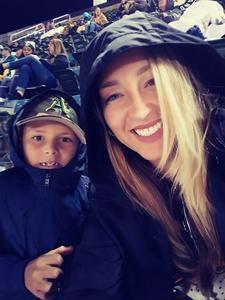 Andrea attended Oakland Athletics vs. Minnesota Twins - MLB on Sep 21st 2018 via VetTix
