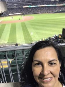Socorro attended Oakland Athletics vs. Minnesota Twins - MLB on Sep 21st 2018 via VetTix