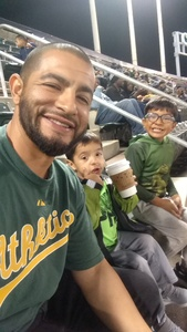 Gabriel attended Oakland Athletics vs. Minnesota Twins - MLB on Sep 21st 2018 via VetTix