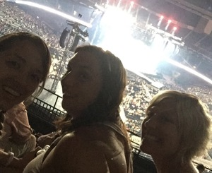 Brad and Katy attended Taylor Swift Reputation Stadium Tour - Pop on Sep 22nd 2018 via VetTix