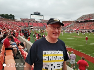 Donald attended NC State Wolfpack vs. Boston College - NCAA Football - Time Tba on Oct 6th 2018 via VetTix