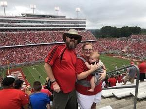 Brian attended NC State Wolfpack vs. Boston College - NCAA Football - Time Tba on Oct 6th 2018 via VetTix