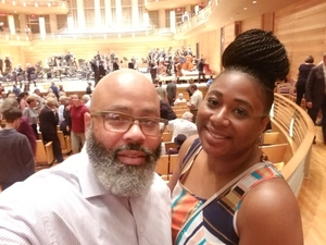 K. attended Sibelius Symphonies - Presented by the Baltimore Symphony Orchestra on Oct 7th 2018 via VetTix