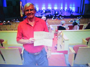 Robert attended The Phoenix Symphony Presents- Sinatra and Friends on Sep 23rd 2018 via VetTix