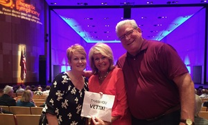 Jon attended The Phoenix Symphony Presents- Sinatra and Friends on Sep 23rd 2018 via VetTix