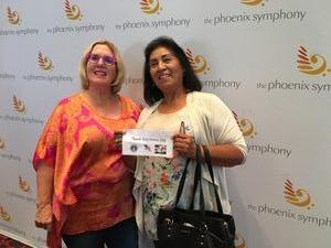 Yolanda attended The Phoenix Symphony Presents- Sinatra and Friends on Sep 23rd 2018 via VetTix