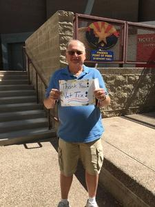 Stephen attended The Phoenix Symphony Presents- Sinatra and Friends on Sep 23rd 2018 via VetTix