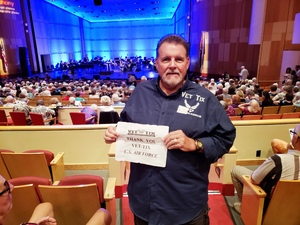 DJ attended The Phoenix Symphony Presents- Sinatra and Friends on Sep 23rd 2018 via VetTix