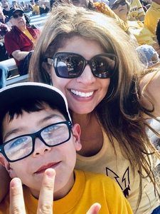 Megan attended Arizona State Sun Devils vs. UCLA - NCAA Football on Nov 10th 2018 via VetTix