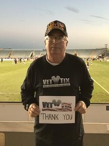 Robert attended Army vs. Navy Cup Vli - Collegiate Soccer on Oct 12th 2018 via VetTix