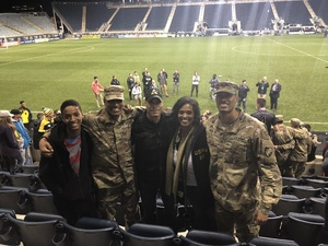 Laurence attended Army vs. Navy Cup Vli - Collegiate Soccer on Oct 12th 2018 via VetTix