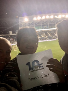 George W (Bill) attended Army vs. Navy Cup Vli - Collegiate Soccer on Oct 12th 2018 via VetTix
