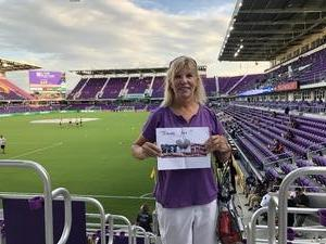 Marty attended Orlando City SC vs. Houston Dynamo - MLS on Sep 22nd 2018 via VetTix