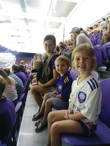 Michael attended Orlando City SC vs. Houston Dynamo - MLS on Sep 22nd 2018 via VetTix
