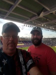 Harold attended Orlando City SC vs. Houston Dynamo - MLS on Sep 22nd 2018 via VetTix