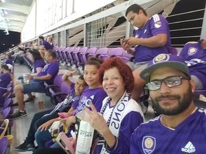 Angel attended Orlando City SC vs. Houston Dynamo - MLS on Sep 22nd 2018 via VetTix
