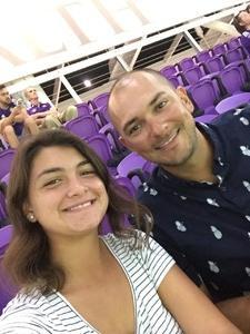 jeremy attended Orlando City SC vs. Houston Dynamo - MLS on Sep 22nd 2018 via VetTix