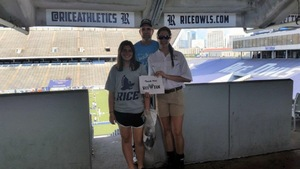 Will Rek attended Rice Owls vs. UTSA - NCAA Football on Oct 6th 2018 via VetTix