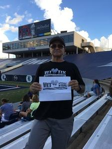 Daniel attended Rice Owls vs. UTSA - NCAA Football on Oct 6th 2018 via VetTix