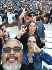Lorenzo attended Live Nation Presents Def Leppard / Journey - Pop on Sep 23rd 2018 via VetTix