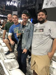 Nathan attended Live Nation Presents Def Leppard / Journey - Pop on Sep 23rd 2018 via VetTix