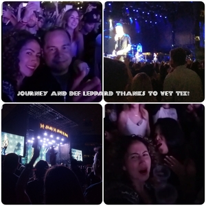 christopher attended Live Nation Presents Def Leppard / Journey - Pop on Sep 23rd 2018 via VetTix