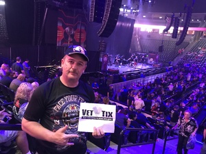 Anton R attended Deep Purple/judas Priest at the Pepsi Center on Sep 23rd 2018 via VetTix