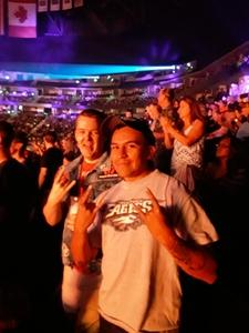 Antonio attended Deep Purple/judas Priest at the Pepsi Center on Sep 23rd 2018 via VetTix