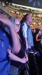 Adrian attended Deep Purple/judas Priest at the Pepsi Center on Sep 23rd 2018 via VetTix