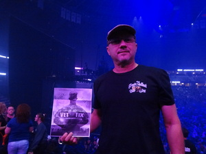 Byron attended Deep Purple/judas Priest at the Pepsi Center on Sep 23rd 2018 via VetTix