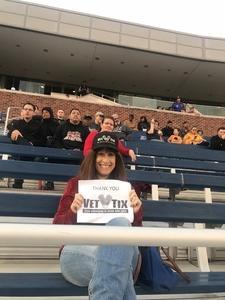 Linda attended SMU Mustangs Football vs. University of Houston Cougars - NCAA Football on Nov 3rd 2018 via VetTix