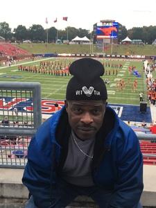 Gary attended SMU Mustangs Football vs. University of Houston Cougars - NCAA Football on Nov 3rd 2018 via VetTix